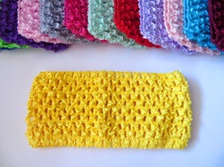 Повязка-основа цв. желтый 7х15 см.
