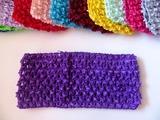 Повязка-основа цв. фиолетовый 7х15 см.