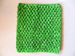 Топ - основа для платьев tutu цв. светло-зеленый 15х15 см.