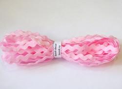 """Тесьма """"вьюнок"""" цв. розовый 5 мм."""
