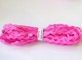 """Тесьма """"вьюнок"""" цв. ярко-розовый 5 мм."""