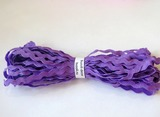 """Тесьма """"вьюнок"""" цв. фиолетовый 5 мм."""
