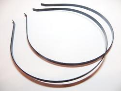 Ободок-основа метал. цв. черный 0.5 см