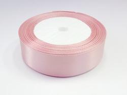 Атласная лента цв. пыльно-розовый 25 мм.(1м.)