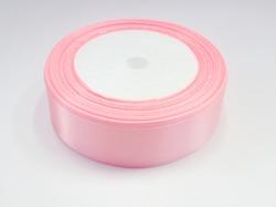 Атласная лента цв. розово-персиковый 25 мм.(1м.)