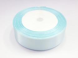 Атласная лента цв. светло-голубой 25 мм.