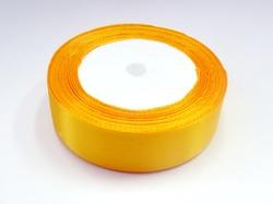 Атласная лента цв. светло-оранжевый 25 мм.(1м.)