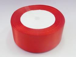 Атласная лента цв. красный 40 мм. (1м.)