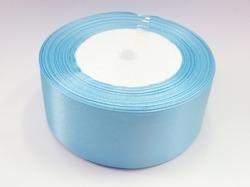 Атласная лента цв. голубой 40 мм. (1м.)