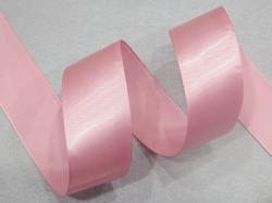 Атласная лента матовая ПП цв. пыльно-розовый 40мм.(1м.)