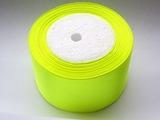 Атласная лента цв. ярко-желтый 50 мм.(1м.)