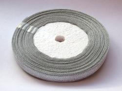Металлизированная лента цв. серебро 10мм