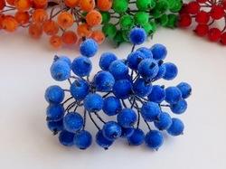 Ягоды в сахаре цв. синий (40 ягод)