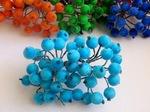 Ягоды в сахаре цв. голубой (40 ягод)