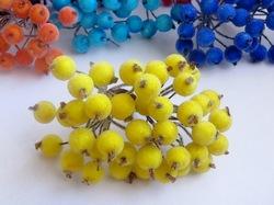 Ягоды в сахаре цв. желтый (40 ягод)