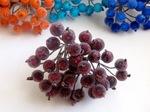 Ягоды в сахаре цв. бордовый (40 ягод)