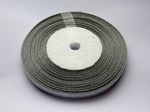 Металлизированная лента цв. серебро 6мм