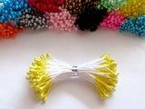 Тычинки цв. желтый 3мм. (100 шт.)