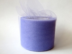 Лента из фатина цв. светло-фиолетовый 50 мм.