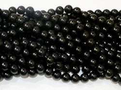 Бусины цв. черный D 12 мм. (25 шт.)