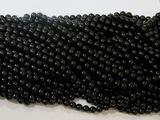 Бусины цв. черный D 8 мм. (100 шт.)