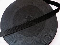 Резинка цв. черный 15 мм. ( 1м.)