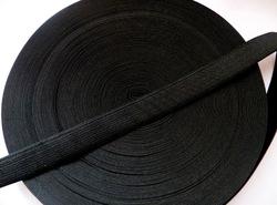 Резинка цв. черный 20 мм. ( 1м.)