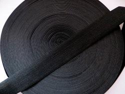 Резинка цв. черный 30 мм. ( 1м.)