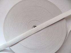 Резинка цв. белый 15 мм. ( 1м.)