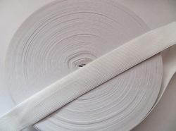 Резинка цв. белый 30 мм. ( 1м.)