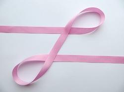 Репсовая лента цв. розовый 12 мм.