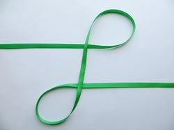 Репсовая лента цв. зеленый 6 мм. (5 м.)