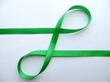 Репсовая лента цв. зеленый 12 мм.