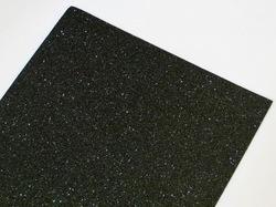 Фоамиран с глиттером цв. черный