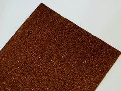 Фоамиран с глиттером цв. коричневый