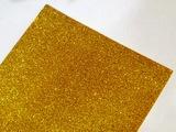 Фоамиран с глиттером цв. золото
