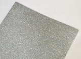 Фоамиран с глиттером цв. серебро