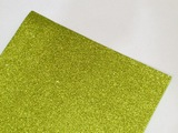 Фоамиран с глиттером цв. светло-салатовый