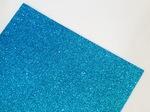 Фоамиран с глиттером цв. голубой