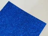 Фоамиран с глиттером цв. синий