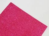 Фоамиран с глиттером цв. ярко-розовый