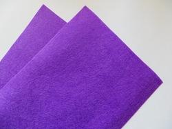 Фетр средней жесткости цв. фиолетовый