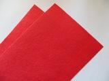 Фетр средней жесткости цв. светло-красный