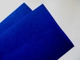 Фетр средней жесткости цв. синий