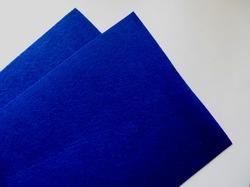 Фетр средней жесткости цв. темно-синий