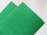 Фетр средней жесткости цв. зеленый