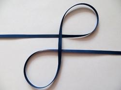 Репсовая лента цв. темно-синий 6мм (5 м.)