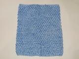 Топ - основа для платьев tutu цв. голубой 23х20 см.