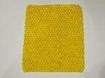 Топ - основа для платьев tutu цв. желтый 23х20 см.