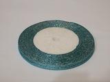 Металлизированная лента цв. голубой 6 мм.